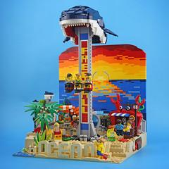 DOGOD_OCEAN AMUSEMENT PARK_01 (DOGOD Brick Design) Tags: lego brick afol moc ianhou dogod taiwan taipei toy ocean park shark crab shrimp turtle
