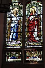 Stain Glass window. Saint Joseph Church - Haverhill, MA (Stephen St-Denis) Tags: saint joseph church haverhill massachusetts all saints parish stainglass
