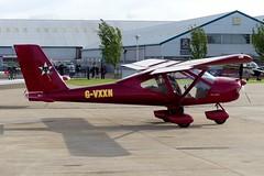 Aeroprakt A32 Vixen G-VXXN (Gavin Livsey) Tags: vixen a32 gvxxn laarally sywell