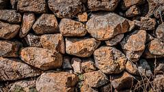 Wall (Est3ban.T) Tags: rock stone wall orange day texture composition simple catamarca nikon d3300 nikond3300 reflex dslr lightroom