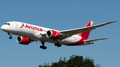 Avianca Boeing 787-8 N786AV (StephenG88) Tags: londonheathrowairport heathrow lhr egll 27r 27l 9r 9l boeing airbus august25th2019 25819 myrtleavenue renaissanceheathrow avianca av ava 787 788 7878 n786av
