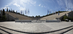 Olympic Stadium Athens 030919 Untitled_Panorama2-a (Tony.Woof) Tags: olympic athens panathenaic stadium