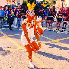 Carnival dancer (gerrypopplestone) Tags: women dancing hackneycarnival celebration london hackney
