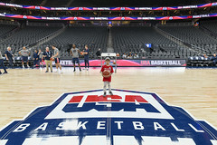 2019_T4T_USAB LV Game_Professional Photos 3 (TAPSOrg) Tags: taps tragedyassistanceprogramsforsurvivors teams4taps usab usabasketball lasvegas nevada practice 2019 military indoor redshirt group kids children basketball horizontal posed