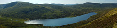 Callater Panorama Drama (steve_whitmarsh) Tags: landscape aberdeenshire scotland scottishhighlands mountain hills highlands water loch lochcallater lake panorama topic cairngorms