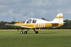 G-AXEV Beagle B121 Pup Srs.2 cn B121-070 Sywell 01Sep19 (kerrydavidtaylor) Tags: orm egbk sywellaerodrome northamptonshire