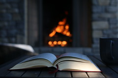 :: September :: ({april h}) Tags: autumn cozy quietude fire outside reverie reading hygge bookish