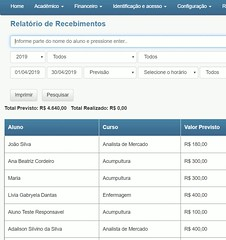 Softwares de Gestão Escolar (edukante1) Tags: sofware gestão escolar acadêmico financeiro cursos escolas faculdades controle