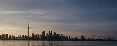 Sunset over Toronto (MikeTheExplorer) Tags: city travel sunset toronto ontario canada travelling skyline architecture skyscraper twilight cntower skyscrapers streetphotography wanderlust traveller explore northamerica fujifilm traveling lakeontario discover traveler torontoislands cityphotography camera color colors composition colorful fujifilmxt100