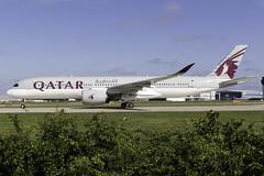 Qatar Airways A350-900 A7-ALS at Manchester Airport MAN/EGCC (dan89876) Tags: qatar airways airbus a350 xwb a350900 a359 a350941 a7als manchester international airport takeoff 23l south side man egcc