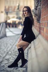 Yulia (Vagelis Pikoulas) Tags: portrait girl girls woman women canon 6d sigma 85mm art krakow bokeh blur photography photoshoot beautiful beauty street poland europe