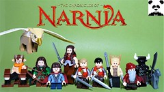 The Chronicles of Narnia: The Lion, The Witch and The Wardrobe (HaphazardPanda) Tags: lego figs fig figures figure minifigs minifig minifigures minifigure purist purists character characters films film movie movies tv mr mrs beaver tumnus gryphon susan pevensie lucy general oreius peter edmund the white witch ginarrbrik otmin maugrim chronicles narnia lion wardrobe