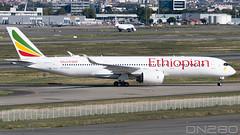 Ethiopian A350-941 msn 345 (dn280tls) Tags: ethiopian a350941 msn 345 a350 fwznf etawo