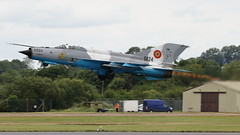 RIAT 2019_MiG-21_12 (andys1616) Tags: romanian air force mikoyangurevich mig21 lancerc 6824 royal international airtattoo raffairford gloucestershire july 2019