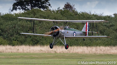I20A4645 (flying.malc) Tags: aircraft aeroplane aeroplanes vintage classic oldwarden shuttleworth airshow airdisplay airplane