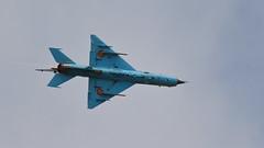 RIAT 2019_MiG-21_01 (andys1616) Tags: romanian air force mikoyangurevich mig21 lancerc 6824 royal international airtattoo raffairford gloucestershire july 2019