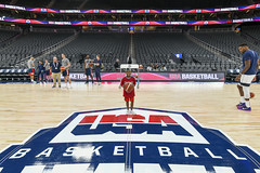 2019_T4T_USAB LV Game_Professional Photos 2 (TAPSOrg) Tags: taps tragedyassistanceprogramsforsurvivors teams4taps usab usabasketball lasvegas nevada practice 2019 military indoor redshirt group kids children basketball horizontal posed