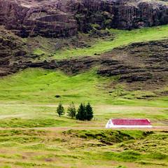 Solitude (TablinumCarlson) Tags: solitude haukadalur europa europe island iceland haus einsamkeit abgeschiedenheit landscape landschaft house leica leicam m240 summicron cron 90mm green grün bláskógabyggð natur nature northatlantic goldencircle gullnihringurinn