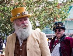 Eye of the beard (sasastro) Tags: steampunk beard hat goggles candid invasioncolchester pentax sasastro pentaxk5iis leagueofessextraordinarygentlmen costume