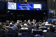 Plenário do Senado (Senado Federal) Tags: plenário sessãoespecial comemoração homenagem aniversário juscelinokubitschek memorialjk paineleletrônico brasília df brasil