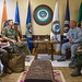 Commander, U.S. Indo-Pacific Command, meets with the commander of the Philippines Western Command
