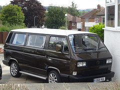 1990 Volkswagen Transporter Camper Van (Neil's classics) Tags: 1990 volkswagen transporter camper van t3 t25 vw camping motorhome autosleeper motorcaravan rv caravanette kombi mobilehome dormobile