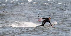 Kite-surfing (aixcracker) Tags: kitesurfing sea hav meri emsalö emäsalo porvoo borgå varlax vaarlahti suomi finland autumn fall höst syksy september syyskuu nikond500 iso1600 gulfoffinland finskaviken suomenlahti sigmas150600mmf5063 europe europa eurooppa archipelago skärgård saaristo
