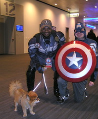 "Wizard World Cleveland 2019 (Vinny Gragg) Tags: sign signs dog dogs puppy pup canine puppies animal animals pomeranian pomeranians costume costumes cosplay marvelcomics marvel marveluniverse avenger avengers mightyavengers ""captainamerica"" ""steverogers"" ""clevelandohio"" cleveland ohio superheroes superhero comics comicbooks comicbook villian villians supervillian supervillians wizardworldcomiccon wizardworld comiccon chicagocomiccon shield shields"