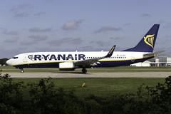 Ryanair 737-800 EI-ENT at Manchester Airport MAN/EGCC (dan89876) Tags: ryanair boeing 737 b738 737800 7378as eient manchester international airport takeoff 23l south side man egcc