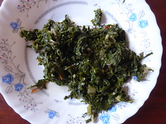 Sukuma wiki (prondis_in_kenya) Tags: kenya nairobi hotdryseason kayole udp urbandevelopmentprogramme ugali lucy sukumawiki kale