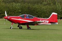Frati F. 8L Falco G-HCBW (Gavin Livsey) Tags: falco ghcbw laarally sywell