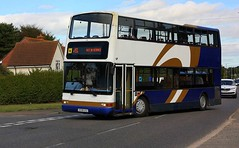 Tendring Travel (Chris Baines) Tags: tendring travel dennis trident plaxton president x598 usc lawford essex