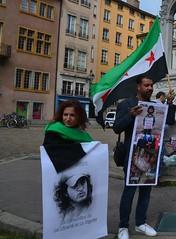against the massacres of civilians in Syria