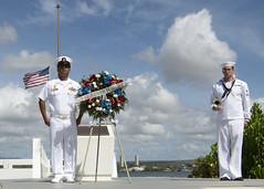190911-F-VJ532-0094 (U.S. Pacific Fleet) Tags: sept11 911 commmemorate honor newyorkcity jbphh jointbasepearlharborhickam fordisland ussutah battleship worldtradecenter twintowers pentagon pennsylvania unitedstates