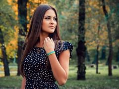 (Alexander Lyakhov) Tags: настя девушка осень октябрь 2014 50мм гелиос81н nikond90 helios81h 50mm