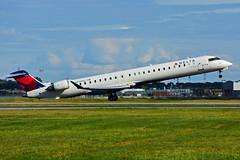 N314PQ (Delta Conn. - Endeavor Air) (Steelhead 2010) Tags: yul nreg deltaairlines deltaconnection endeavorair bombardier crj crj900 n314pq