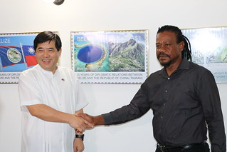 Launch of Belize-Taiwan Commemorative Postal Stamps