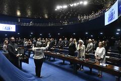 Plenário do Senado (Senado Federal) Tags: plenário sessãoespecial comemoração homenagem aniversário juscelinokubitschek memorialjk coraldosenado maestrinaglicíniamendes hinonacional brasília df brasil