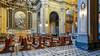 Across the Nave Diagonal (ken mccown) Tags: church italy rome architecture sancarloaicatinari