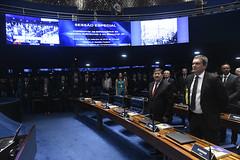 Plenário do Senado (Senado Federal) Tags: plenário sessãoespecial comemoração homenagem aniversário juscelinokubitschek memorialjk hinonacional bancada convidado brasília df brasil