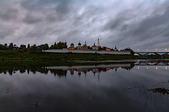 Staritsky Monastery (gubanov77) Tags: staritskymonastery staritsa russia monastery church dawn volgariver reflection orthodox travelphotography travel