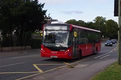 IMGP3286 (Steve Guess) Tags: epsom surrey england gb uk dorkingroad bus tfl alexander dennis adl enviro 200 mmc coaches quality line buses ratp dxe route293