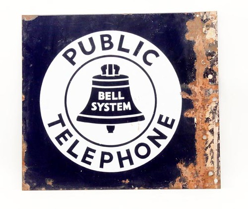 Public Telephone Tin Sign ($67.20)