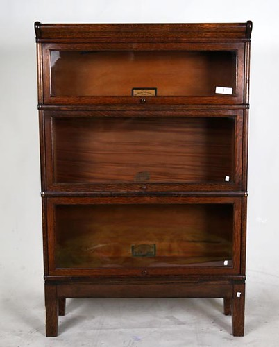Oak Barrister Bookcase ($504.00)