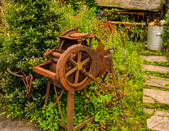 Ancient old Grain crusher (Geordie_Snapper) Tags: canon5d4 canon2470mm forestofdean june landscape summer tintern tinternabbey tinternmil