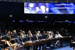 Plenário do Senado (Senado Federal) Tags: plenã¡rio sessã£oespecial comemoraã§ã£o homenagem aniversã¡rio juscelinokubitschek memorialjk bancada convidado brasãlia df brasil plenário sessãoespecial comemoração aniversário