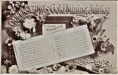 Queensland's Gold Mining Jubilee 1858 - 1908 (Aussie~mobs) Tags: goldmining statistics 1908 queensland jubilee vintage australia mountmorgan charterstowers palmergoldfields gympie wealth