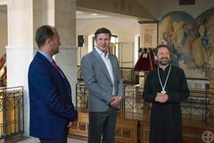 МинДА посетил ректор БГУ