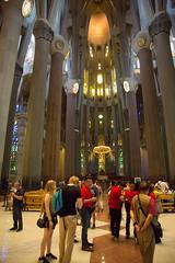 The great cathedral La Sagrada Familia (DavezPicts) Tags: vactaion europe gaudi cathedral lasagradafamilia church basilica barcelona catalonia spain