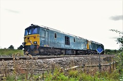 73970 (stavioni) Tags: gbrf class47 class73 electro diesel electric locomotive edinburgh castle 47727 73970 gb railfreight duff caledonian sleeper